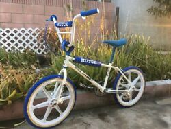 Old School Vintage Bmx Rare 20andrdquo Hutch Wing Styler Very Nice Bike