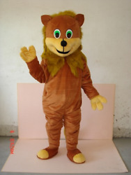 Halloween Lion Doll Mascot Costume Adult Party Cartoon Apparel Cosplay Costumes
