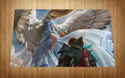 Restoration Angel Playmat Large Mouse Pad Trading Card Game Deck Gift Free Shipp