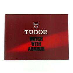 Tudor Vintage Watch With Armour Booklet English Version - 581.22 Eng-40-8.1982