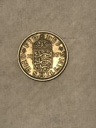 1957 Great Britain 1 One Shilling Coin 🇬🇧 British Really Nice