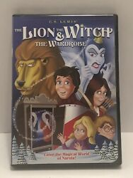The Lion The Witch And The Wardrobe Dvd 2005 Animated 1979 Region 1 Oop