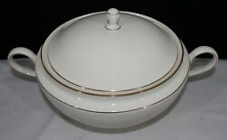 Rare Discontinued Lenox American Home Courtyard Gold Soup Tureen New With Tag