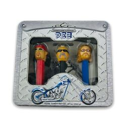 2006 Pez Orange County Choppers Limited Edition Collector's Tin Gift Set