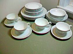 28 Pc Set Imperial China W. Dalton Whitney 5671 4 Place Settings Excellent