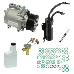 A/c Compressor And Component Kit-vin P Diesel Ohv Turbo Fits E-350 Super Duty