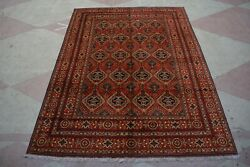 8and0396 X 11and0395 Feet Afghan Vintage Large Area Rug Multiple Colors Mazary Design.