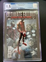 Ultimate Fallout 4 Cgc 9.6 Nm+ Marvel White Pages 1st Appearance Miles Morales