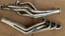 1969-1970 Ford Mustang Ss Long Tube Headers Fits 260 289 302 351 Boss Etc