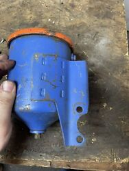 1957 Cadillac Oil Filter Canister + Unused Filter