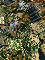 1 Pound Silver Scrap Recovery Processed Chips Computer Video Game Electronics