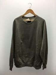 Rvca L Side Line Gray Cotton Size L Fashion Sweat 2001 From Japan