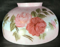 New 14 Dome Lamp Shade, Hand Painted Queen Elizabeth, Table And Library Lamp 037