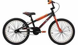 Brave Black And Orange Freestyle Bmx Kids 20 Bicycle Lightweight Aluminum