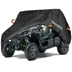 2 Seats Utility Vehicle Storage Cover Outdoor Uv Dust For Kawasaki Teryx S Le