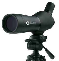 Simmons Blazer 60x Spotting Scope Black With Shoulder Strap Bag And Lens Covers
