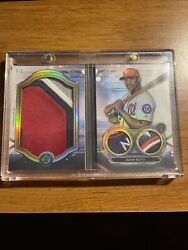 2019 Topps Triple Threads Jumbo Plus Patch Booklet Juan Soto Nationals D 2/3