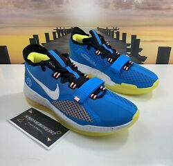 Men's Nike Air Force Max Low Eybl Basketball Shoes Bv0651-400 Blue Size 11