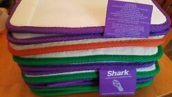6-replace Pad Carpet Cleaning Hard Floor Pad Scrub Shark Sonic Duo Terry Lot Set