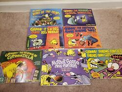 Lot Of 7 Mike Peters Grimmy Comic Books 20 Year Treasury Dog Sniff Dog King O