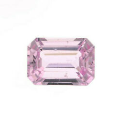 1.20 Cts Sapphire Loose Natural Unique Wgi Cert Heated Light Pink Emerald