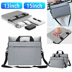 13#x27;#x27; 15#x27;#x27; Laptop Shoulder Sleeve Bag Carry Case 360°Protective for Tablet Laptop $18.98