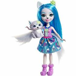 Enchantimals Winsley Wolf Doll And Trooper Figure 6 Inches, Multicolor