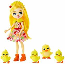 Enchantimals Family Toy Set, Dinah Duck Doll With Slosh And 6 Inches, Multi