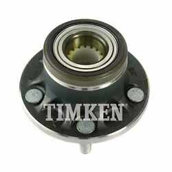 For Ford Transit Connect Rear Set Of 2 Differential Bearing Set Timken Ha590430