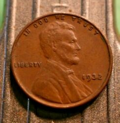 Higher Grade 1932-p Lincoln Wheat Cent 1c. 7047