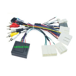 For Nissan Car 16pin Android Audio Wiring Cable Harness Adapter Canbus Plugandplay