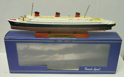 Passenger Ship Normandy , Atlas , 11250, Finshed Model, French Lines, New