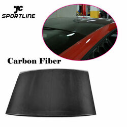 Carbon Fiber Auto Car Top Roof Cover Trims Fit For Ford Mustang Coupe 2015up