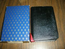 Ptl New Testament Thomas Nelson Black Pocket Bible Leather Cover