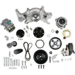 Holley 20-242 Big Block Chevy Mid-mount Complete Accessory Drive Kit Fits Big Bl