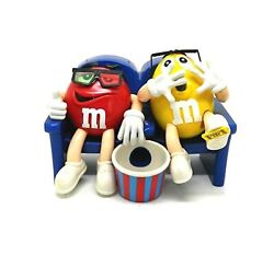 Mandm's Candy Dispenser At The Movies With 3d Glasses Collectible