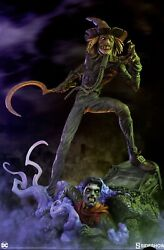 Ss The Scarecrow And Mr. Freeze Premium Format 2x Statues Exclusive Sold Out
