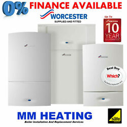 Worcester Greenstar 8000 Style 50kw Combination Boiler Supply And Fitted