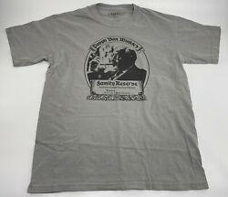 New Pappy Van Winkleand039s Family Reserve 23 Yr Old Labelandnbspwhiskey T-shirt Sz M Grey