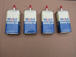 Vintage Mobil Pegasus Handy Oil Can    New Old Stock Never Used