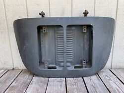 Porsche 356 B C Coupe Engine Lid Decklid Twin Grill
