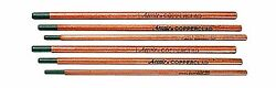 Victor Arcair 22082003 Gouging Electrodes Pointed Copperclad Dc, 1/2 X 14-inch