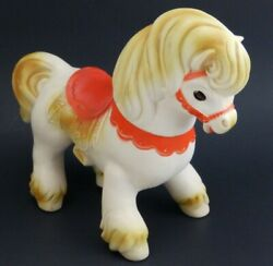 Vintage1961 Edward Mobley Rubber Squeak Toy Horse Squeaker And Blink Eyes Nice
