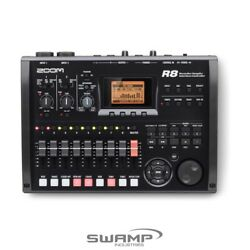 Zoom R8 Multi-track Recorder Audio Interface Controller Sampler Sequencer