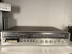 Panasonic Se 2681 Vintage All-in-one Am/fm 8-track Player Stereo Receiver