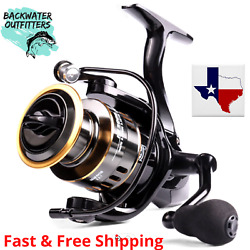 Spinning Reel He1000 5.21 Gear Ratio W/ Eva Handle Great For Bass 22lb Max Drag