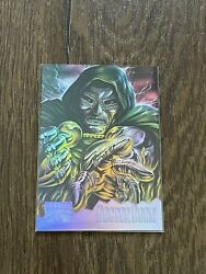 1995 Marvel Masterpieces - Holoflash Card - 3 Of 8 Dr. Doom Fast Ship⚡️