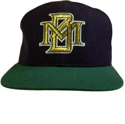 Milwaukee Brewers Vintage New Era Diamond Collection Pro Model Hat Made In Usa