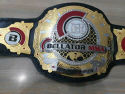 Bellator Mma World Champion Wrestling Belt With 100 Real Leather Straps