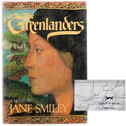 Jane Smiley / The Greenlanders Signed First Edition 1988 102849